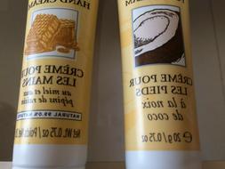 Burt's Bees FOOT and HAND Creams Set