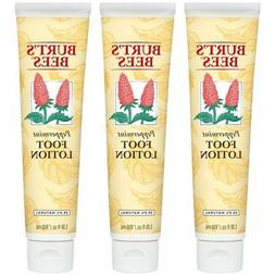 Burt's Bees Peppermint Foot Lotion - 3.38 Ounce Tube Pack of