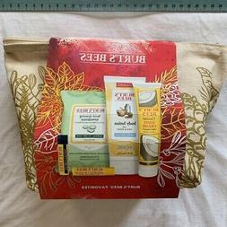 Burt's Bees Womens Gift Set Coconut Foot Cream Body Lotion C