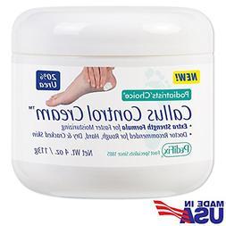 Callus Control Cream Extra Strength 20% Urea Moisturizing Fo