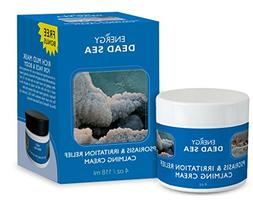 Calming Psoriasis Cream Set - Energy Dead Sea Treatment Crea
