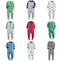 CARTER'S Toddler Boy Footed Blanket Sleeper Pajamas One-Pc A