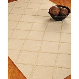 NaturalAreaRugs Century City Collection Wool Area Rug, Hand