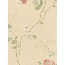 York Wallcoverings CG5609 Willow Woods Chrysanthemum Trail W