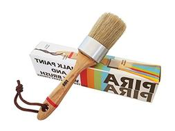 Chalk Paint and Wax Brush by PiraPira/Natural Bristles for M