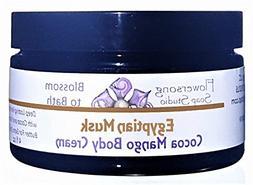 Flowersong Egyptian Musk Cocoa Mango Body Cream - Deep Lasti