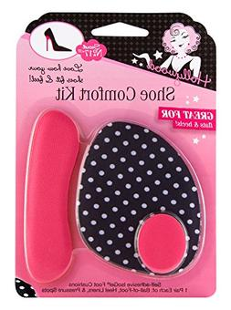 Hollywood Fashion Secrets Shoe Comfort Kit includes Ball-of-