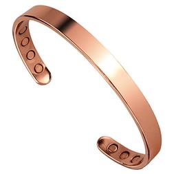 Earth Therapy Pure Copper Magnetic Bracelet Arthritis Pain R