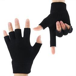 Codream Cotton Men's Gel Moisturizing Gloves Day Night Insta