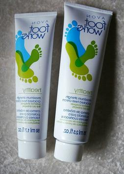 Cracked Heel Cream Avon Foot Work Moisturize Lidocaine & Ant