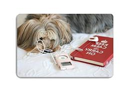 Cute Pet Dog Animal Doormat Entrance Mat Floor Mat Rug Indoo