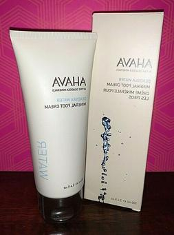 AHAVA Dead Sea Water Mineral Foot Cream - 3.4 fl.oz NEW in B