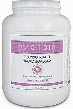 Biotone Dual Purpose Massage Therapy Cream - 1 Gallon