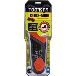 PROFOOT Dura-Sole Insoles Men's 8-13 1 Pair, Long-Lasting In