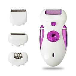OutMall Electric Lady Shaver, 4 in 1 Rechargeable Cordless W