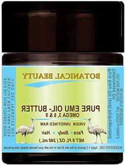 PURE EMU OIL- BUTTER. 100 % Natural - RAW - VIRGIN - UNREFIN