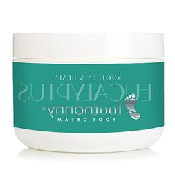 Footnanny - Eucalyptus Foot Cream - Soothes Cracked Heels an