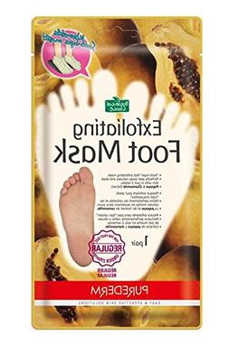 Purederm Exfoliating Foot Mask - Peels Away Calluses and Dea