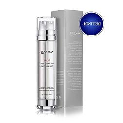 Eye Gel with Retinol for Dark Circles, Puffiness, Wrinkles a