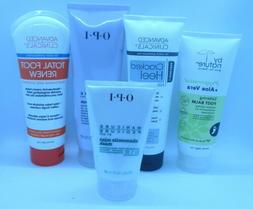 Foot and Heel Moisturizers and Foot Scrubs-choose
