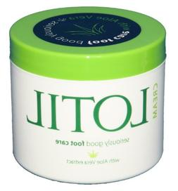 Lotil Foot Cream with Aloe Vera Extract 114ml/4oz