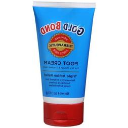 Gold Bond Foot Cream, Triple Action Relief 4 fl oz  by Gold