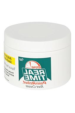 Real Time Pain Relief Foot Cream, 8 Ounce Jar