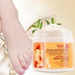 Foot Cream,Enjocho 200g Foot Mask Moisturizing Whitening Fee