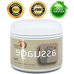 Foot Scrub for Cracked Heels & Dry Skin - Foot Pain Relief P
