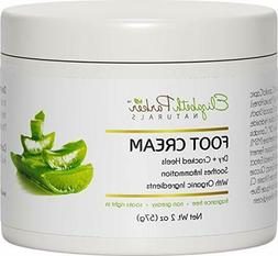 Foot Cream for Dry Cracked Heels and Feet Anti Fungal for At