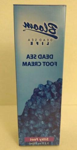 Bloom Dead Sea Life Foot Cream Silky Feet 3.5 fl oz 100 mL