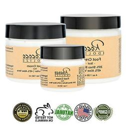 Foot Cream with Shea Butter and Aloe Vera for Dry Cracked He