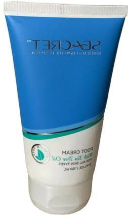 SEACRET Foot Cream with Tea Tree Oil  | Dead Sea Minerals