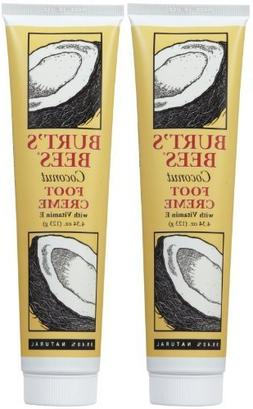 Foot Creme, Coconut , 4.34 oz, 2 pk by Burt's Bees