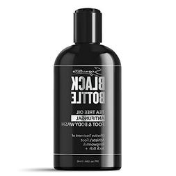 Black Bottle Antifungal Soap w/Tea Tree Oil & Active Ingredi