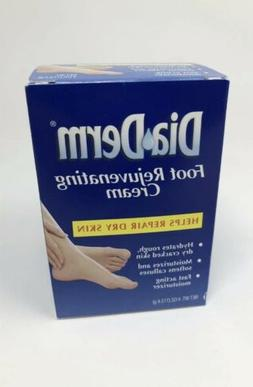 DiaDerm Foot Rejuvenating Cream Repairs Dry Skin 4oz Damaged