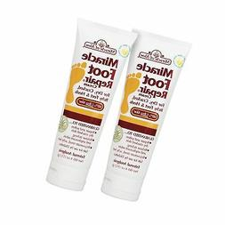 Miracle Foot Repair Cream 4 ounce tube, 2-pack with 60% Ultr