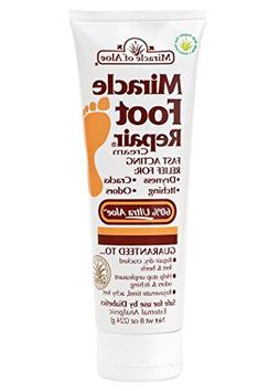 Miracle of Aloe Miracle Foot Repair Cream 8 Oz As Seen On TV