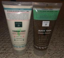 Earth Therapeutics Foot Scrub & Foot Balm 6 oz. Each