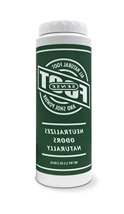 FOOT SENSE All Natural Smelly Foot & Shoe Powder - Foot Odor