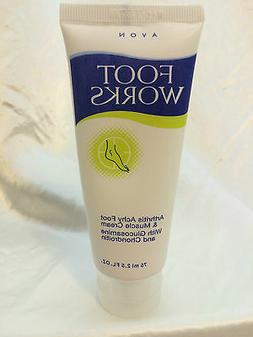 AVON Foot Works Arthritis Achy Foot and Muscle Cream - NEW!!