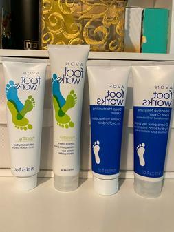 Avon Foot Works Arthritis Achy Foot Deep Moisturizing Pumice