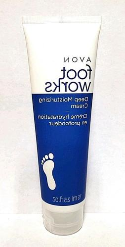 Avon Foot Works Deep Moisturizing Cream 2.5 fl.oz. - Lot of