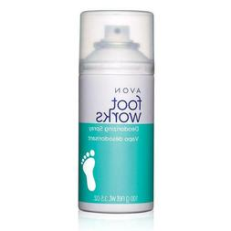 Avon Foot Works *Deodorizing Spray*  Eliminate Order Refresh