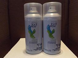 Foot Works Healthy Deodorizing Spray lot 2 pcs