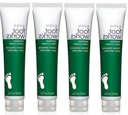 Avon Foot Works Intensive Callus Cream Lot of 4