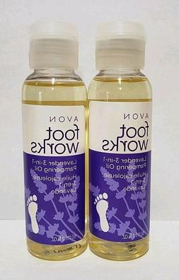 Avon Foot Works Lavender Softening Balm - BRAND NEW PACKAGIN