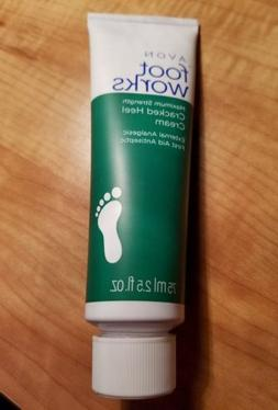 ❤Avon Foot Works  Maximum Strength Cracked Heel Cream, 2.5