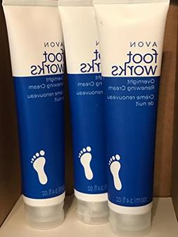 Foot Works Overnight Renewing Foot Cream lot 3 pcs