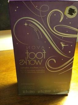 Avon Footworks Deluxe Pedicure Collection Lavender NIB